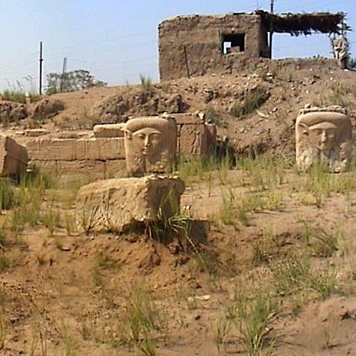 ruins at Memphis