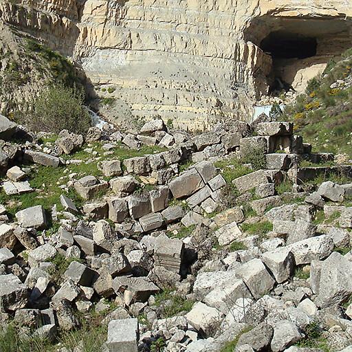 ruins at Afqa