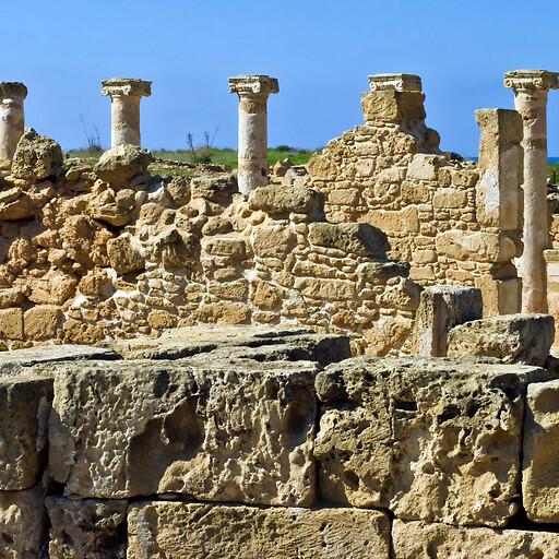 ruins at New Paphos