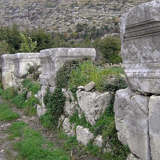 ruins at Seleucia Pieria