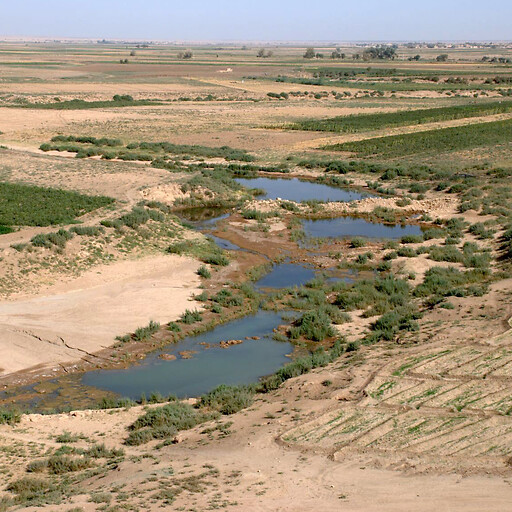 panorama of the Khabur River