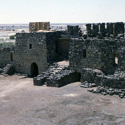 building at Azraq