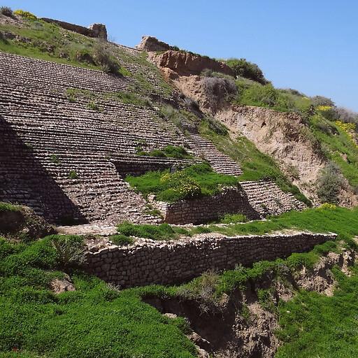 ruins at Tel Ashkelon