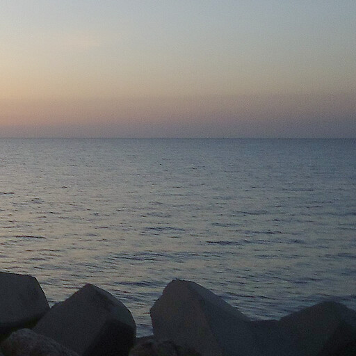sunset across Sidra