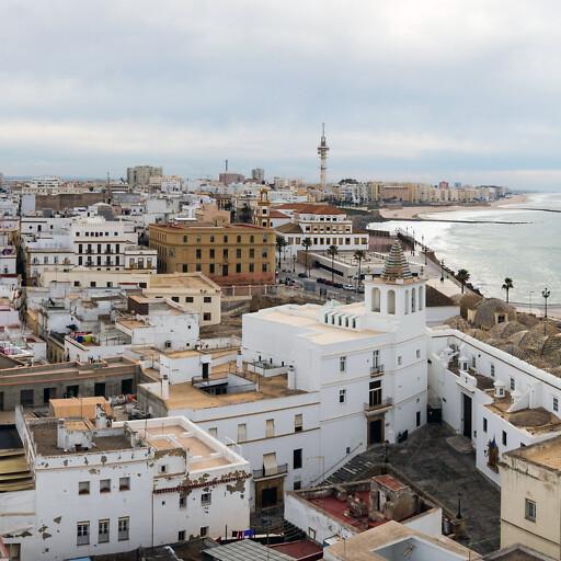 cityscape of Cádiz