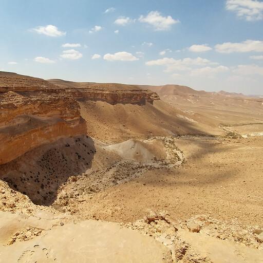 panorama of Har Karkom