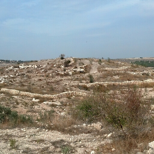 panorama of Khirbet el Hamam