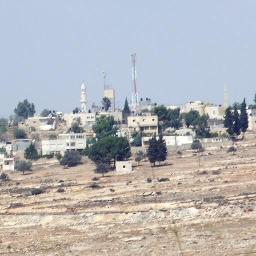 cityscape of Nabi Salih