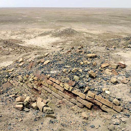 ruins at Tell Abu Shahrain