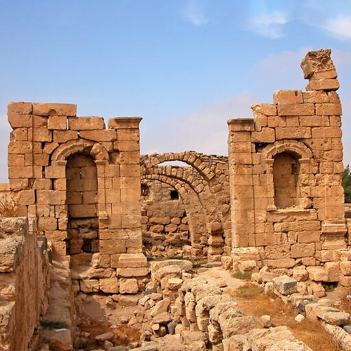 ruins at Rabba