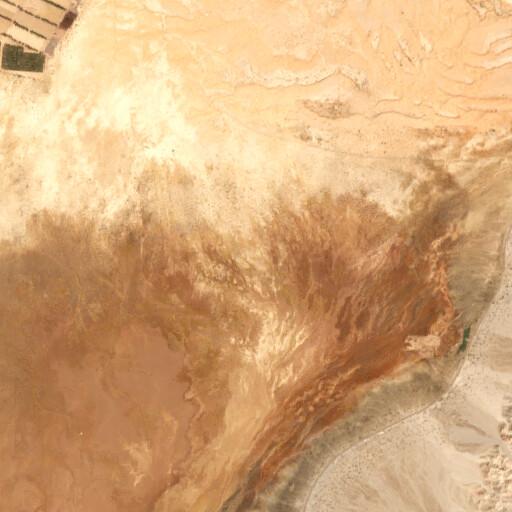 satellite view of the region around Et Taba
