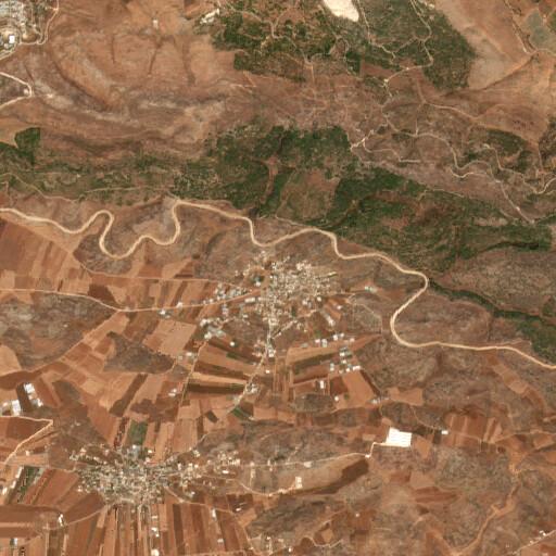 satellite view of the region around Arabbuna