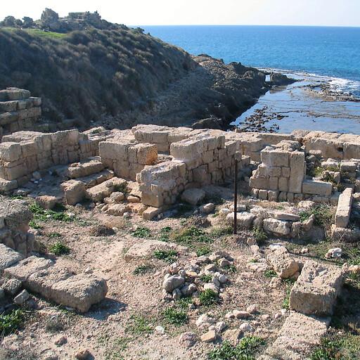ruins at Tel Dor
