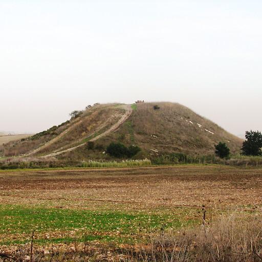 panorama of Tel Qashish
