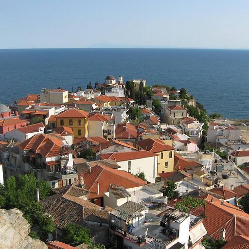 cityscape of Kavala