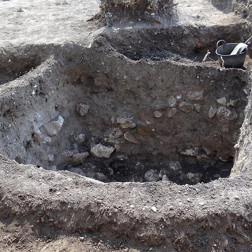 ruins at Tel Shimron