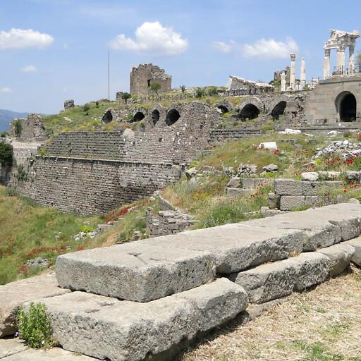 ruins at Pergamon