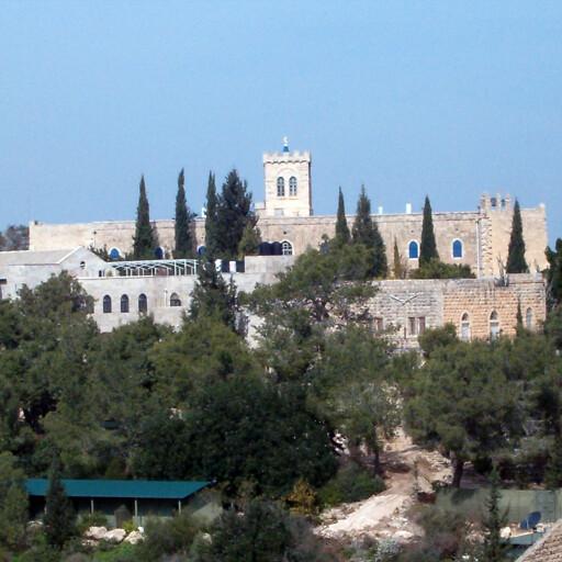 building at Beit Jimal