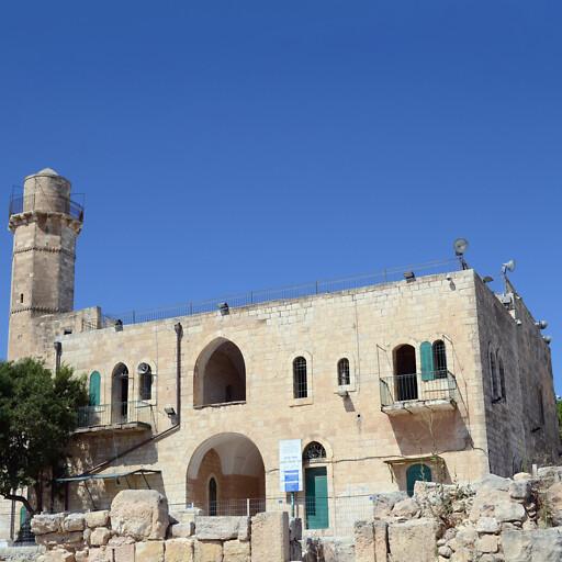 building at Nabi Samwil