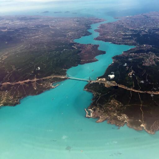 panorama of the Bosporus