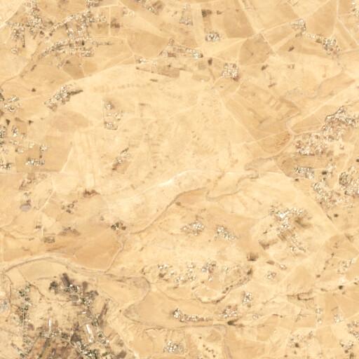 satellite view of the region around Nahal Yattir 205
