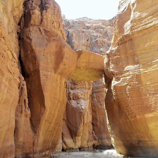 canyon of Wadi en Numeirah