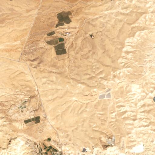 satellite view of the region around Wadi Shaqq ad Dab