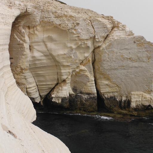 cliff at Rosh HaNikra