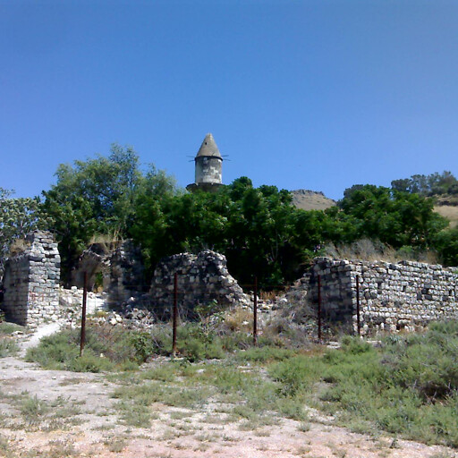 ruins at Hattin