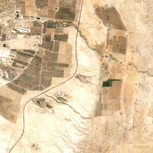 satellite view of the region around Ain Hajlah