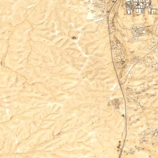 satellite view of the region around Givat Hablanim
