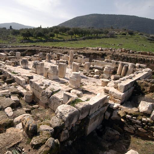 ruins at Khirbet Marus