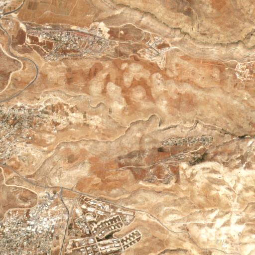 satellite view of the region around Wadi Saleim