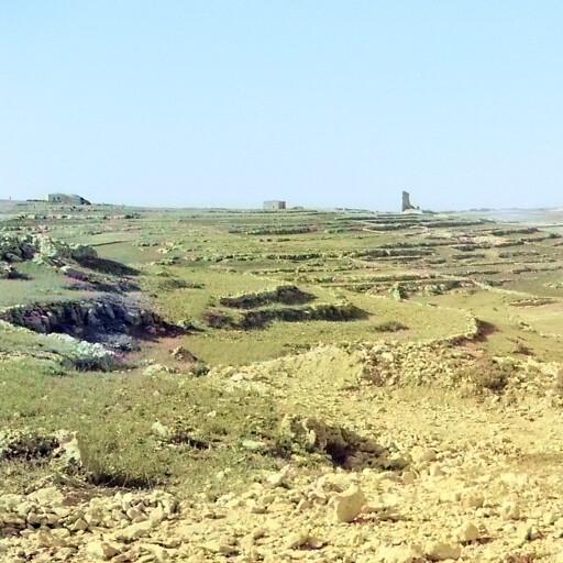 historical panorama of Khirbet et Tubeiqa