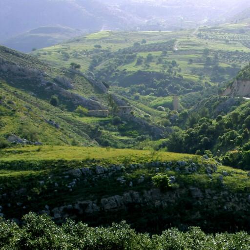 panorama of Wadi Nimrin