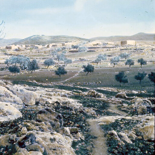 historical panorama of Beit Ur al Tahta