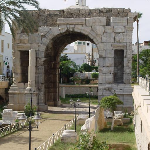 arch at Tripoli