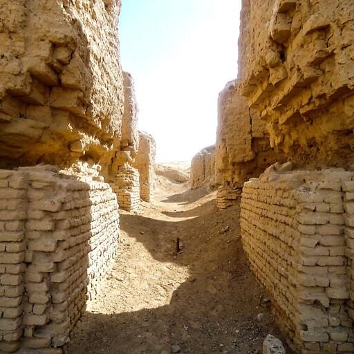 ruins at Hursagkalamma