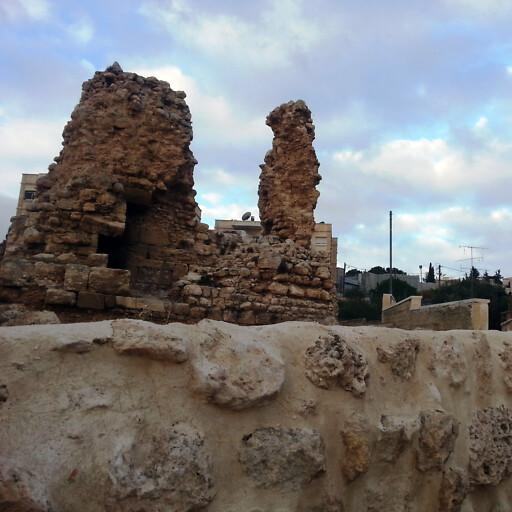ruins at Al Eizariya
