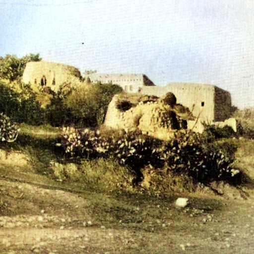 historical panorama of buildings at Indur