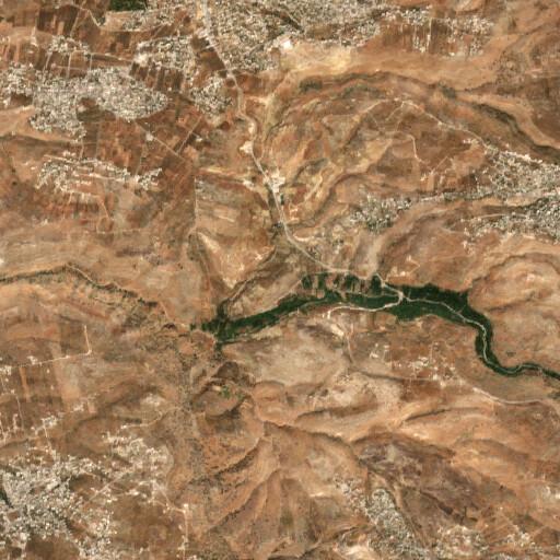satellite view of the region around Tell el Maqlub