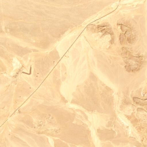satellite view of the region around Naqb al Biyar