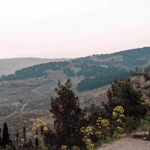 panorama of Jabal al Naba