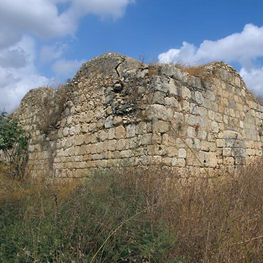 ruins at Kafr Ana