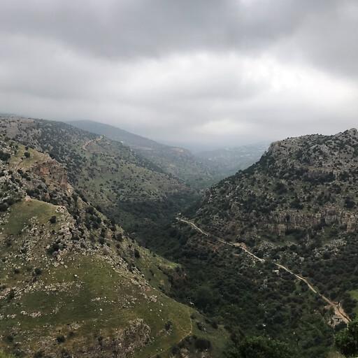 panorama of Wadi al Yabis