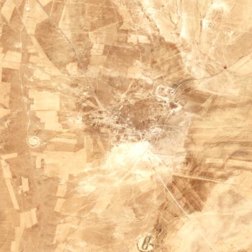 satellite view of the region around Ghantur