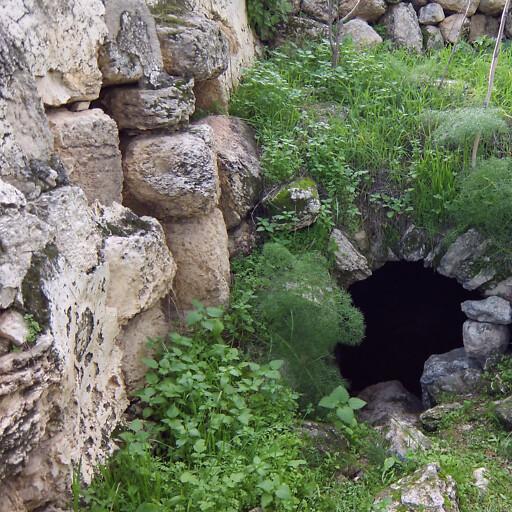 ruins at Khirbet Id el Minya
