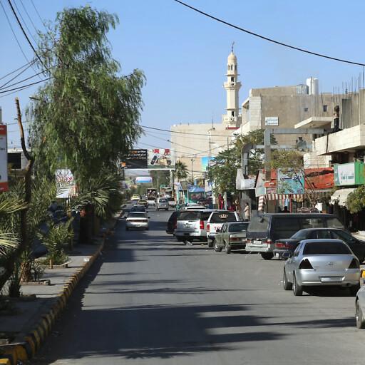 streetscape of Ma'an