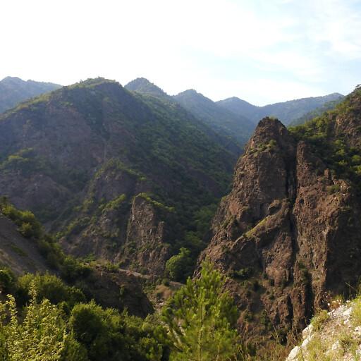 panorama of hills in Bithynia