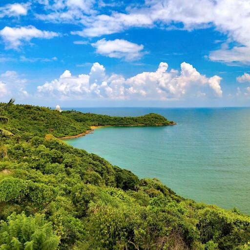 coastline of Sri Lanka